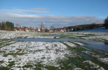 Hochwasserrückhaltebecken Waldberg, Bobingen