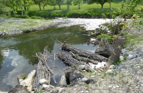 Hochwasserschutz Mindeltal, Balzhausen
